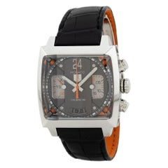 TAG Heuer Monaco CAL5112-FC6298, White Dial, Certified and Warranty