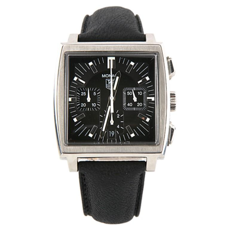 TAG Heuer Monaco CW2111 Automatic Chronograph Stainless Steel Men's Watch