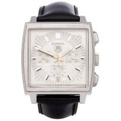TAG Heuer Monaco CW2112-0 Men's Stainless Steel Chronograph Watch