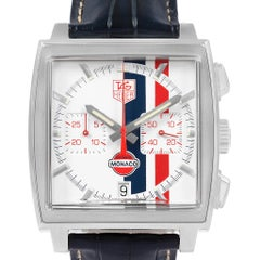 TAG Heuer Monaco McQueen Chronograph Limited Edition Watch CW2118