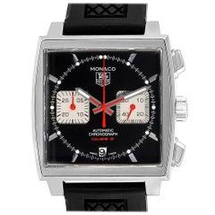 TAG Heuer Monaco Steve McQueen Edition Men's Watch CAW2114 Box Card