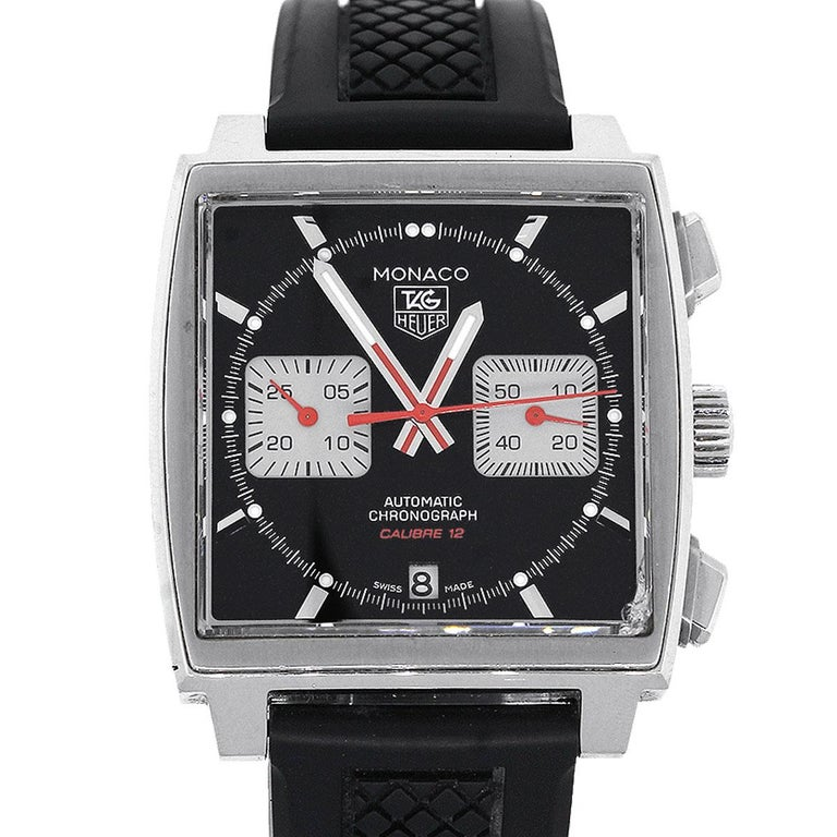 383c8b00bc23c Tag Heuer Monaco Steve McQueen Edition Men s Watch For Sale at 1stdibs