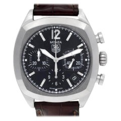TAG Heuer Monza cr21130, Silver Dial, Certified and Warranty