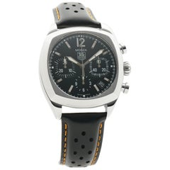 TAG Heuer Monza CR2113.FC6164, Black Dial, Certified and Warranty