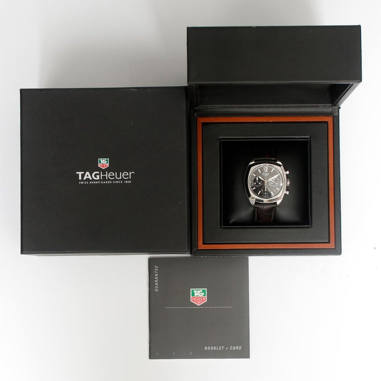 TAG Heuer Monza Stainless Steel Watch CR5110.FC6175 For Sale 1