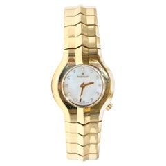 TAG Heuer Rare 18 Karat Gold and Diamond Alter Ego quartz Watch