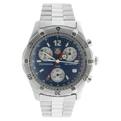 Tag Heuer Stainless Steel Chrono 2000