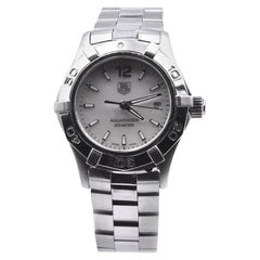 TAG Heuer Stainless Steel Ladies Aquaracer with Mother of Pearl Dial