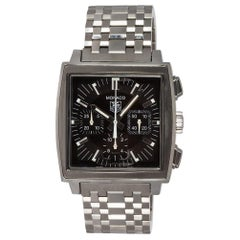 TAG Heuer Stainless Steel Monaco Chronograph Men's Automatic Watch CW2111