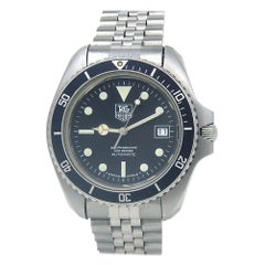 TAG Heuer Vintage Submariner Stainless Steel Men's Watch Automatic 980.033