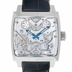 TAG Heuer WAW2170.FC6261 Platinum V4 Monaco Limited Edition Box and Papers