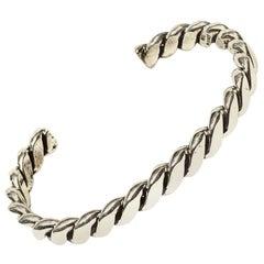 Tahe Navajo Sterling Silver 29 Gr. Cuff Bracelet