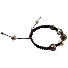 Tahiti Pearls White Gold 18 Karat Bracelet