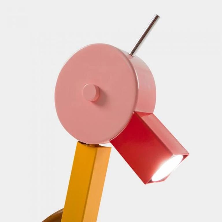 Italian Tahiti Table Lamp 'EU VERSION 220v', by Ettore Sottsass from Memphis, Milano For Sale