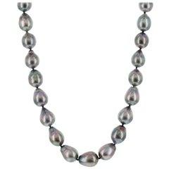 "South Sea Tahitian Baroque Pearl Necklace 18"""
