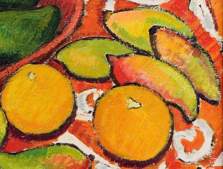 French Tahitian Landscape, Mangoes, Oranges, Avocados, Lemons For Sale