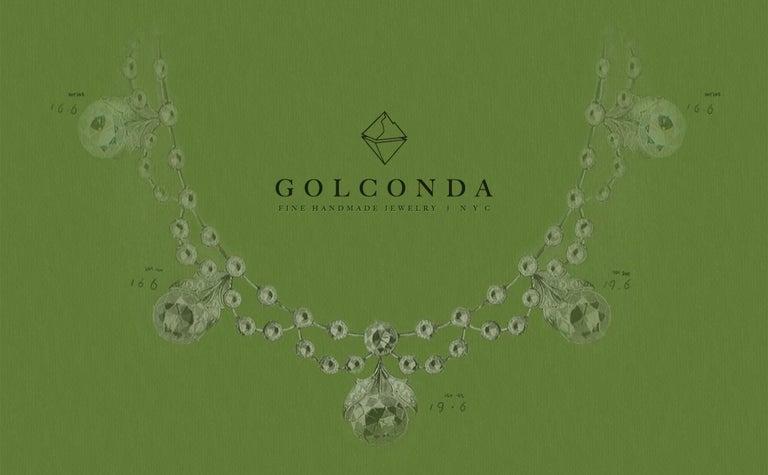 Brilliant Cut Tahitian Pearl, Diamond and 18 Karat Gold Earrings For Sale