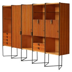 Taichiro Nakai Cabinet in Maple and Mahogany, Italy, 1953