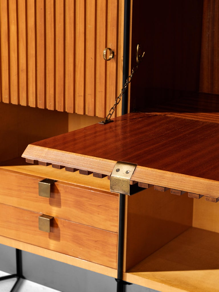 Taichiro Nakai Cabinet in Maple and Mahogany For Sale 3