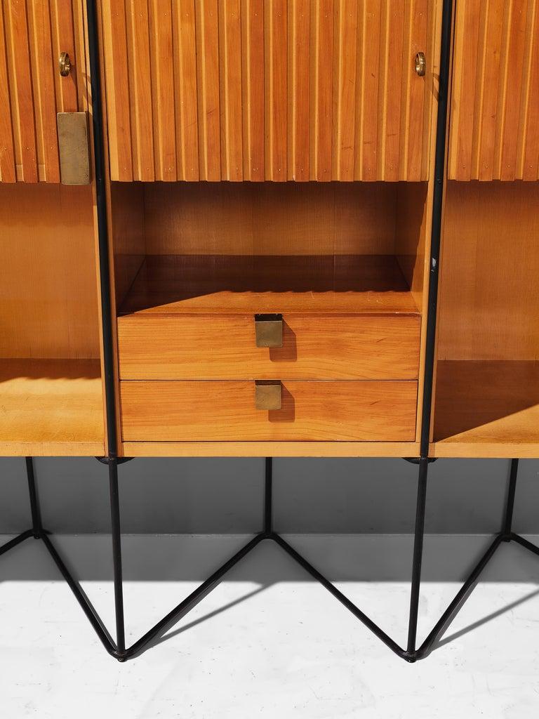 Taichiro Nakai Cabinet in Maple and Mahogany For Sale 5