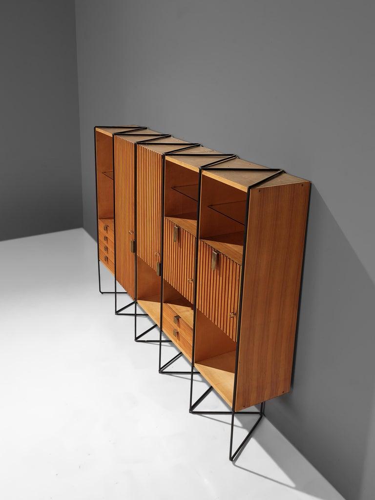 Mid-20th Century Taichiro Nakai Cabinet in Maple and Mahogany For Sale