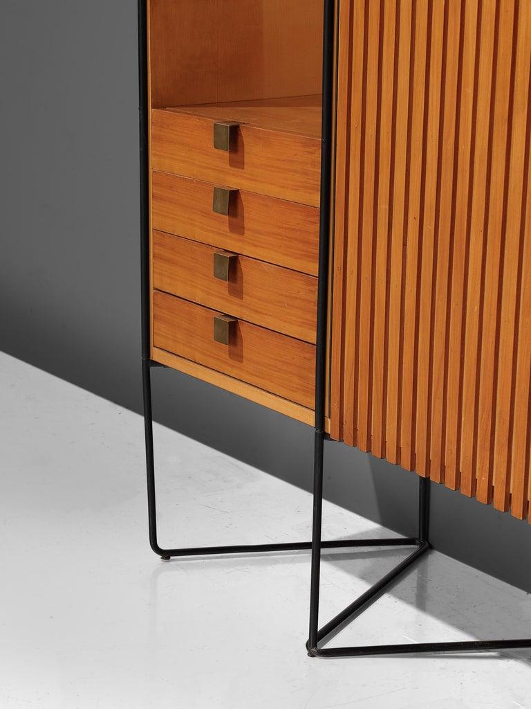 Taichiro Nakai Cabinet in Maple and Mahogany For Sale 1