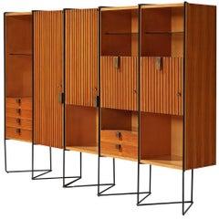 Taichiro Nakai Cabinet in Maple and Mahogany