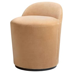 Tail Low Back Chauffeuse Style Upholstered Dining Chair