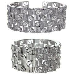 Tailor Made 18 Karat White Gold and Diamond Bracelet