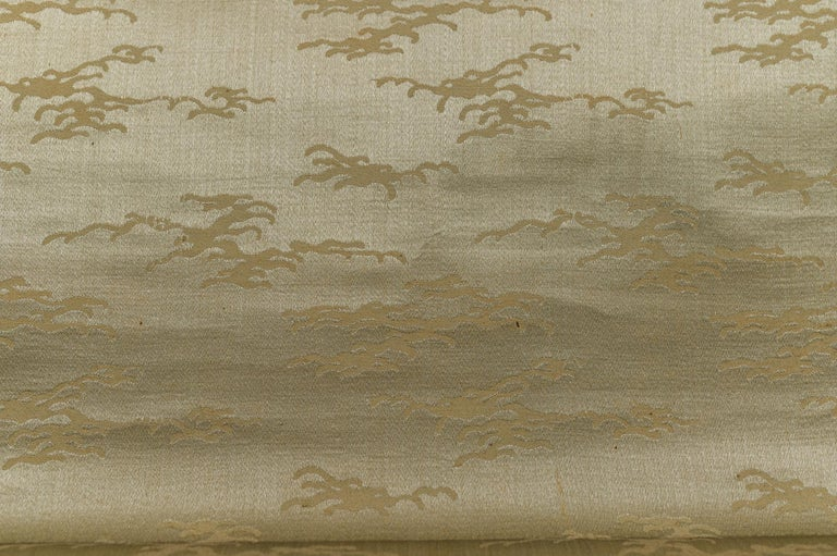 Taisho Period Scroll of Winter Trees For Sale 3