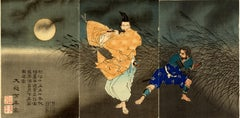 Flute Player Triptych
