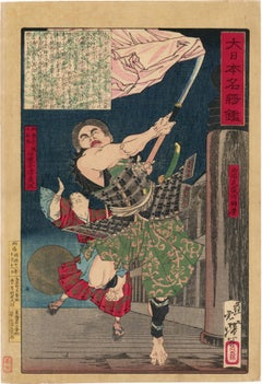 Yoshitsune and Benkei on Gojo Bridge