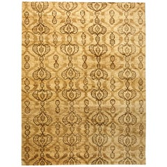 Taj Brown Hemp Rug