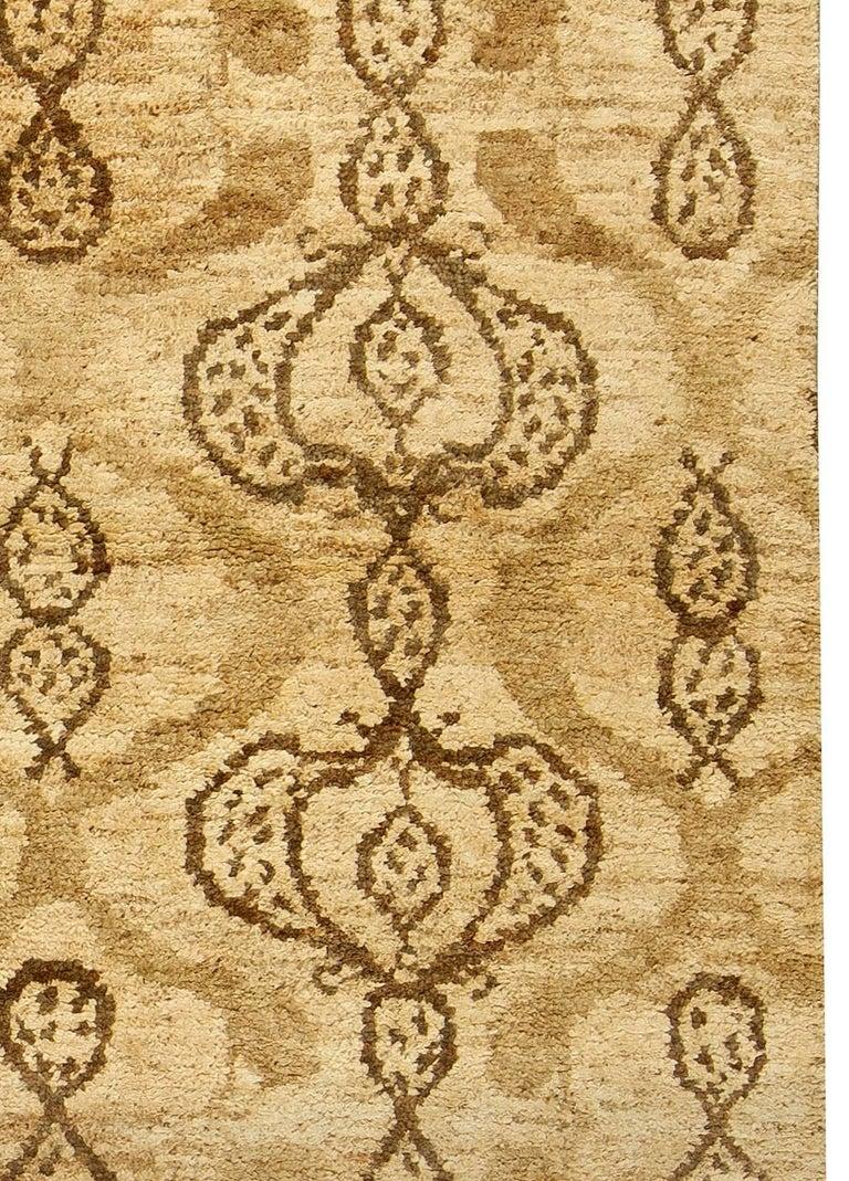 Taj brown rug Size: 10'0