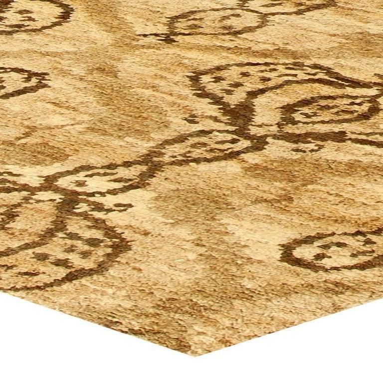Wool Taj Brown Rug For Sale