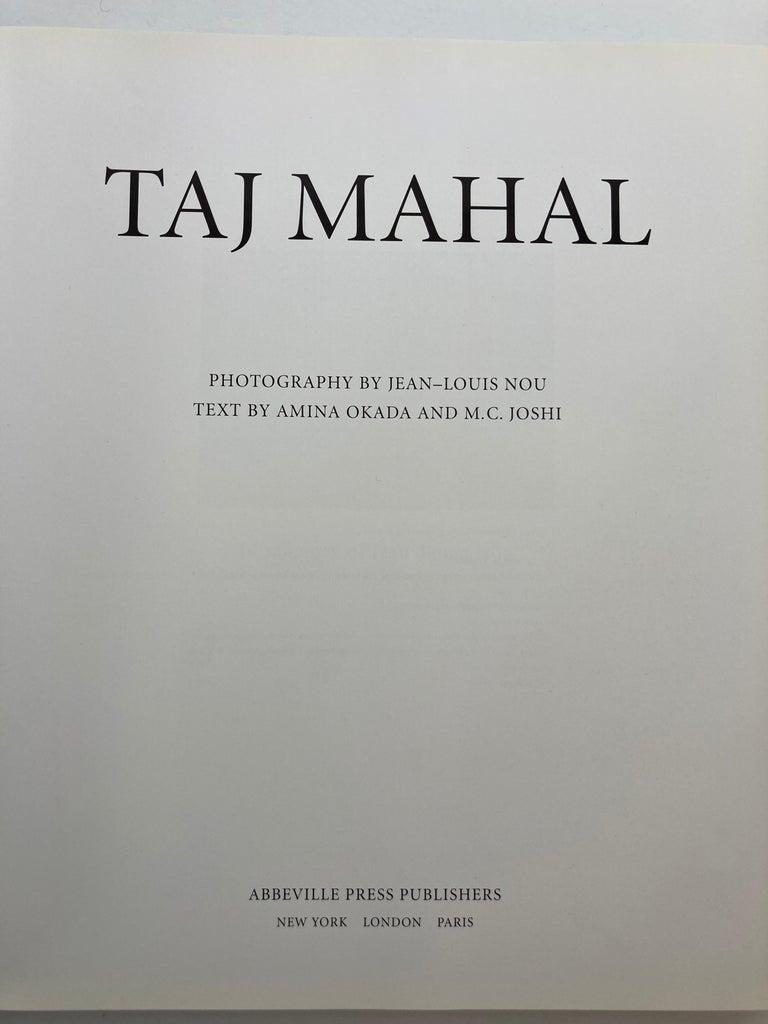 Taj Mahal Hardcover Coffee Table Book For Sale 2