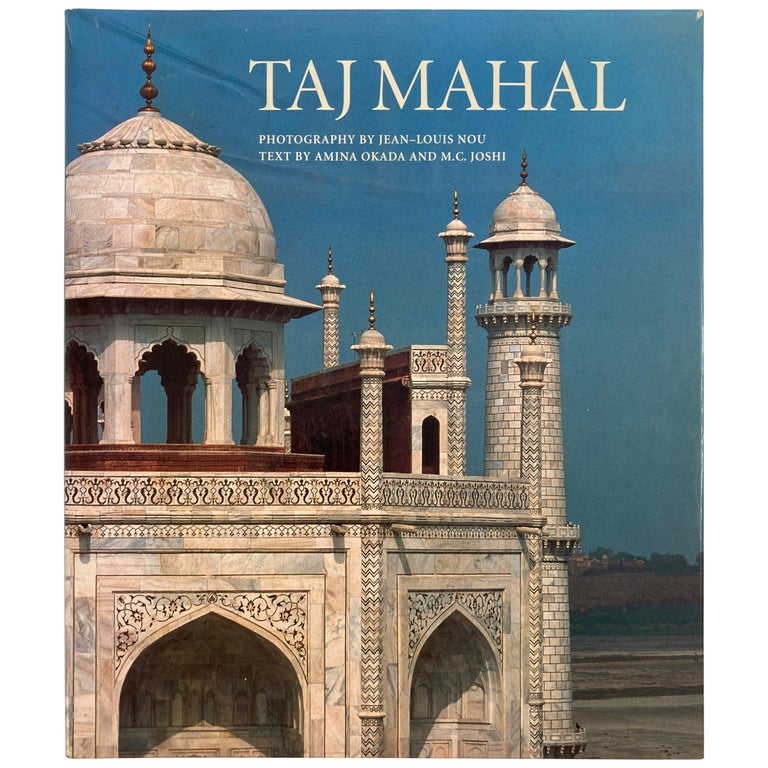 Taj Mahal Hardcover Coffee Table Book For Sale