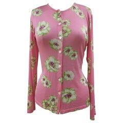 Takada pink flowers shirt