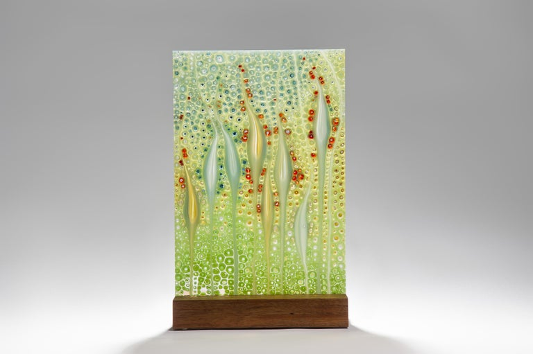 The depth shown is for the Badamier (sea almond) wooden base.