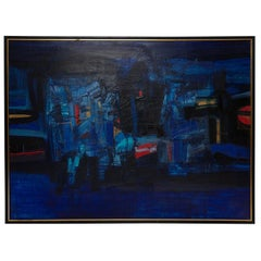 Takase Yasue Abstract Expressionist Painting