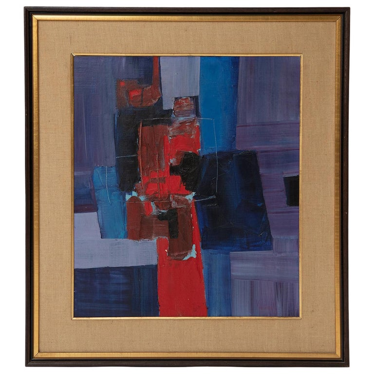 Takase Yasue Abstract Expressionist Painting For Sale