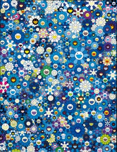 An Homage to IKB, 1957F. Limited Edition (print) by Takashi Murakami signed