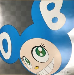 And then and then... (aqua blue) Limited Edition (print) by Murakami signed