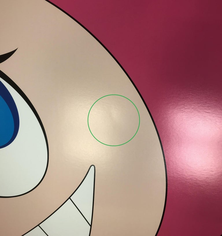And then and then... (pink) Limited Edition (print) by Takashi Murakami, signed  For Sale 10