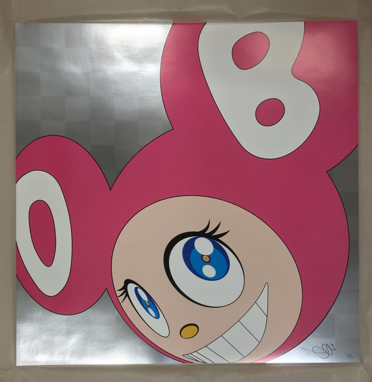 And then and then... (pink) Limited Edition (print) by Takashi Murakami, signed  For Sale 1