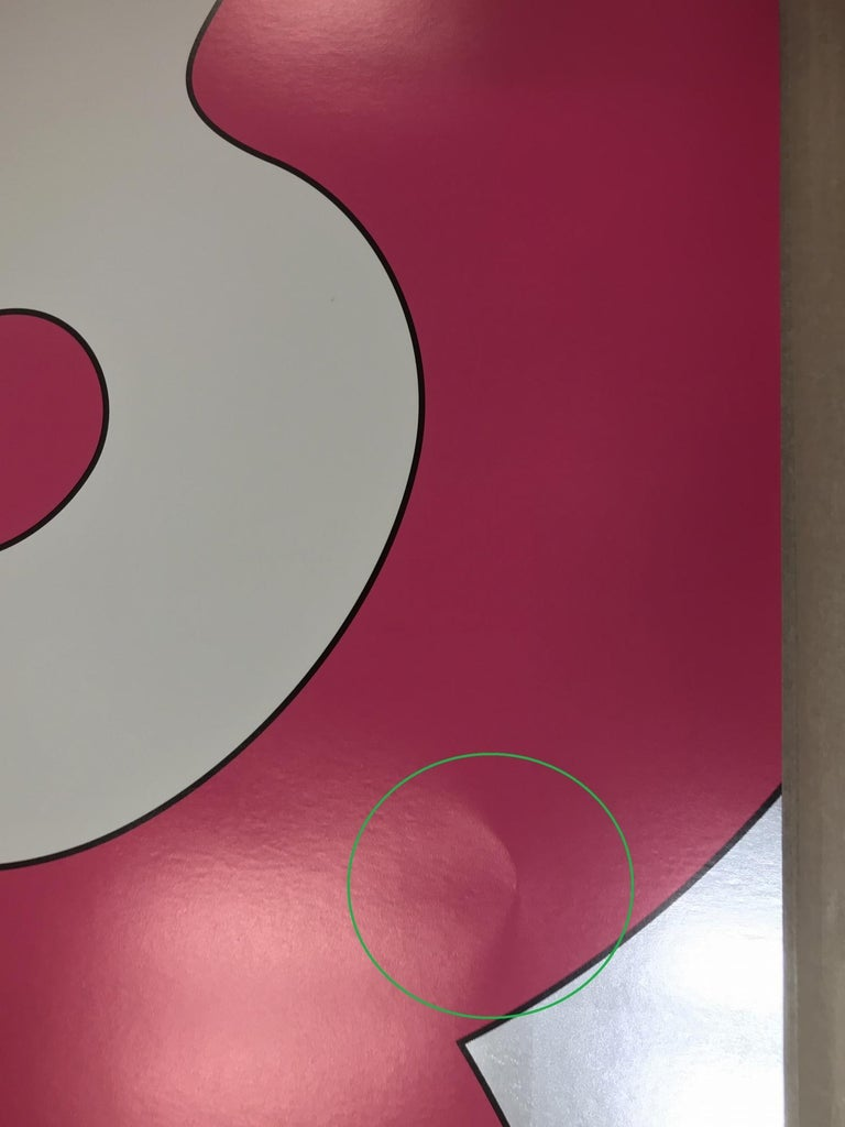 And then and then... (pink) Limited Edition (print) by Takashi Murakami, signed  For Sale 8