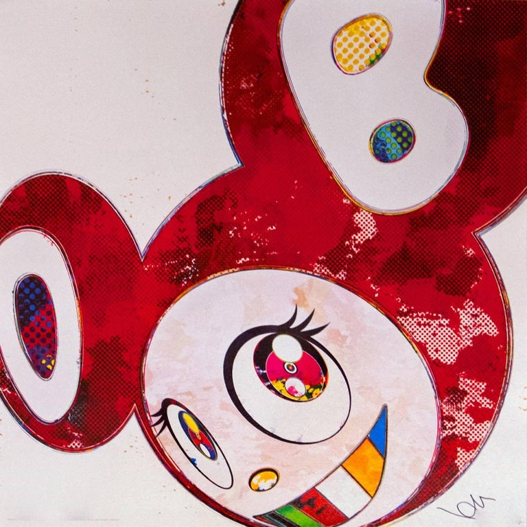 <i>And Then Vermillion</i>, 2013, by Takashi Murakami, offered by Modern Art Etc., Inc.
