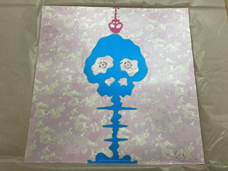 Bokan  - camouflage pink. Limited Edition (print) by Takashi Murakami, signed For Sale 1