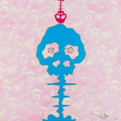 Bokan  - camouflage pink. Limited Edition (print) by Takashi Murakami, signed