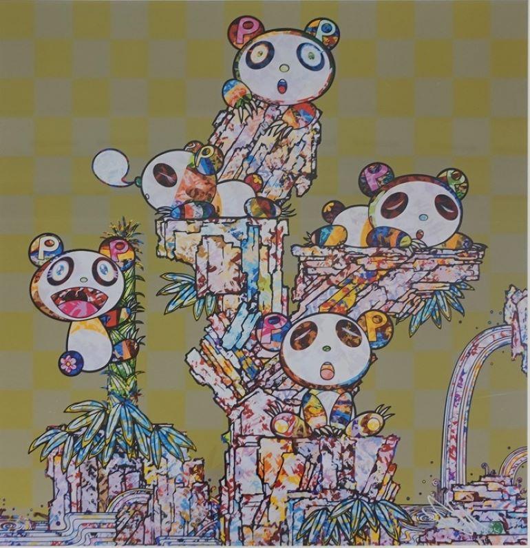 Child Panda Child Panda. Limited Edition (print) by Takashi Murakami signed